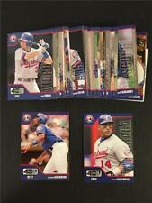 2002 Upper Deck 40 Man Montreal Expos Team Set 40 Cards TOUGH
