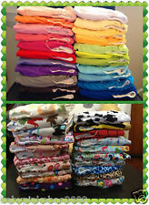 10 x Baby Cloth Nappies+ 10 inserts Reusable Washable 45 colours