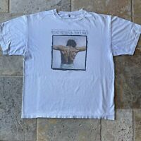 Vintage Air Waves Religious To Read Between The Lines 90s Artistic Jesus T-Shirt