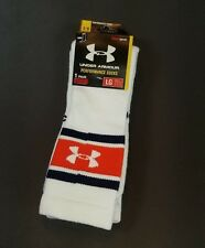 Under Armour Performance Crew Socks Authentic Old School Look Men's Size Large