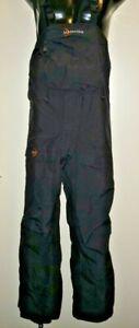 Moonstone Gore-Tex Ski Snow Climbing Hiking Bibs Size Small S SM  Black