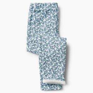 NWT Gymboree Cozy Leggings Blue Flower Girls 3,4,5/6,7/8