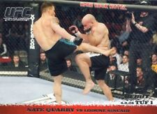 2009 TOPPS UFC ROUND 1 DEBUT  ROOKIE RC  NATE QUARRY #22
