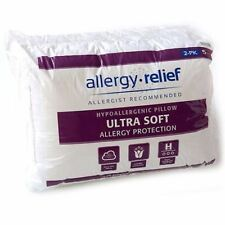 ULTRA SOFT BEDDING 2 PILLOW SET HYPOALLERGENIC ALLERGY RELIEF PROTECTION 26X 20