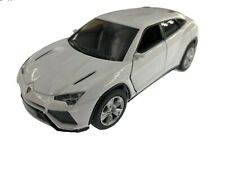 "5"" Kinsmart Lamborghini Urus Diecast Model Toy SUV Car 1:38- White"