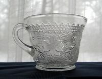 Tiara Indiana Glass Clear Sandwich 6 oz Snack Punch Cup