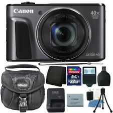 Canon PowerShot SX720 HS 20.3MP 40X Optical Zoom Wifi Digital Camera + 32GB Kit