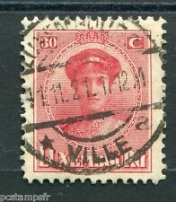 LUXEMBOURG, 1921-22, timbre CLASSIQUE 127, G D CHARLOTTE oblitéré, VF used stamp