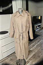 luxueux trench beige ajustable SONIA RYKIEL taille 40 fr i44 * COMME NEUF *