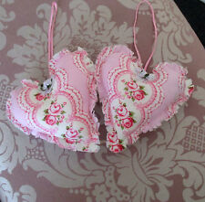 2 SHABBY CHIC HEARTS>NEW>PINK ROSES>WALL/DOOR/DRAWERS> #3