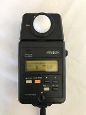 Minolta autometer 3 ambient and studio lightmeter. Good condition.