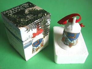 HUTSCHENREUTHER Weihnachtsglocke 1979 Ole Winther Motiv: Alpenland Steinbock OVP