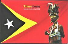(M-1145) Timor - 2002 Independence - Presentation pack + FDC