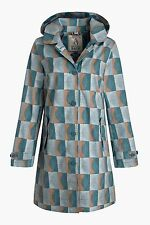 Checked Outdoor Raincoats for Women