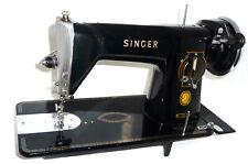 Antique vintage Singer 15M sewing machine leather denim canvas