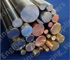 3, 4, 5, 6, 8, 10 & 12mm Aluminium, Brass, Copper, Stainless Steel Metal Rods