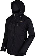 Regatta Mens Calderdale II Waterproof Jacket S Black Rmw225 80050