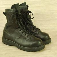 Belleville Gore-Tex Duty Boots Men's 5.5 W Black Leather Combat Army Vibram Sole