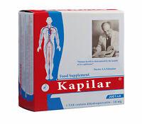 KAPILAR 100 and 200 TAB of 0,25g (Dihydroquercetin). ANTIOXIDANT EFFECT. Capilar