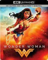 Wonder Woman (4K Ultra HD Blu Ray Movie) Gal Gadot Sealed