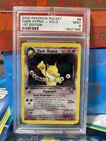 2000 Pokemon Team Rocket 1st Edition DARK HYPNO Holo 9/82 PSA 9 MINT