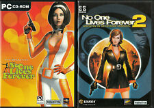 2 x PC Spiel - No One Lives Forever 1 + 2