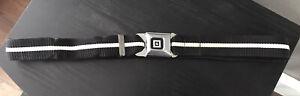 "GM Buckle Seatbelt belt black and white 40"" Truck M"