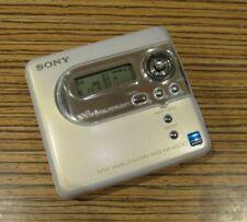 Sony MD NH600 HI USB Recorder für AA Batt. ,  (31)  Elfenbein-Perlmut Top Solo