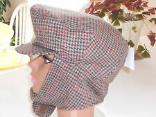 Dorfman Pacific Company Scala Signature Unisex Hat with Ear Flaps - Size XL -NWT