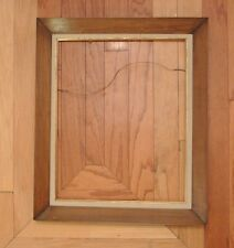 Brown Color Wood Picture Frame Great Decor Piece. Home Decor. Art. Framed Pic