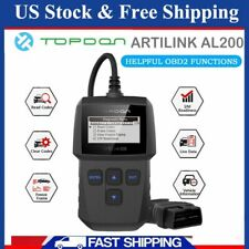 EOBD OBD2 Code Reader Car Scanner Diagnostic Tool Engine Turn Off MIL I/M TOPDON