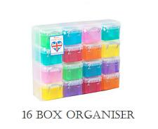 Unidad de cajón realmente útil Arco Iris Torre de almacenamiento 16 Caja Organizador Varios Colores