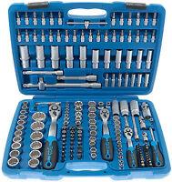 Steckschlüssel Satz 170-tg Ratsche Nuss Kasten Vielzahn Nüße Set Werkzeug Koffer