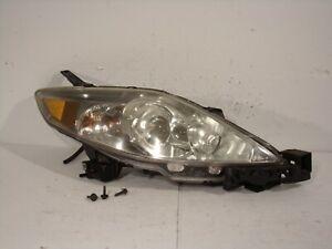 2006 2007 MAZDA 5 PASSENGER SIDE RIGHT HEADLIGHT HEAD LAMP LENS ASSEMBLY #9382