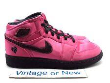 Girls Nike Air Jordan I 1 Phat Valentine's Spark Pink Black GS 2011 sz 6.5Y