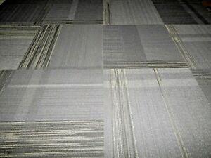 74 Pcs  Carpet Tile  24'' x 24''  Total 296 S/F Commercial Grade 100% Nylon .