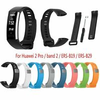 Silicone Sports Watch Strap Watchband for Huawei 2 Pro/ band 2/ ERS-B19/ ERS-B29