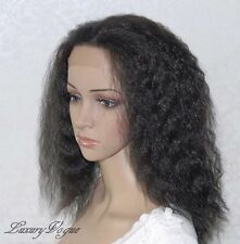 Handsewn Synthetic FULL LACE FRONT Wigs Kinky 9118#1B