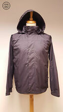 #540A Hi Gear Mens Trent Grey 3-in-1 Outdoor Hooded Raincoat, Small  *Damaged