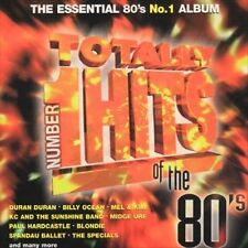 TOTALLY NUMBER 1 HITS OF THE 80'S - Various Artists - CD DISC ONLY!!!!!!