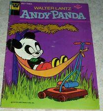 Walter Lantz Andy Panda 10, VG (4.0) 1975 Whitman Variant! 50% off Guide!
