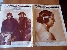 SECOLO ILLUSTRATO 11/1934 Anna d'Aosta, Naufragio Celiuskin, Affare Stavisky