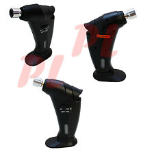 POCKET Micro Torch Butane Heat Torch Automatic Ignition System Culinary Tor