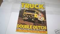MARCH 1984 TRUCK magazine