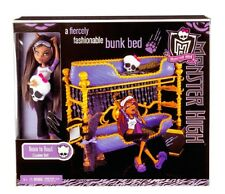 NEW Monster High doll Dead Tired Clawdeen Wolf - Room to Howl Bunk Bed Playset
