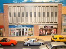 Low Relief Row of Shops, W H Smith  and Lasenza,  Self Assembly Card Kit .