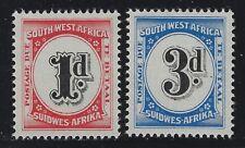 SW Africa 1960 Postage Due set Sc# J94-95 NH