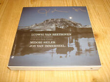 MIDORI SEILER Beethoven Complete Violin Sonatas IMMERSEEL OUTHERE 3CD BOX Signed