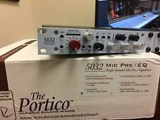 Rupert Neve Designs Portico 5032 Mic Preamp & Equalizer Great Condition!