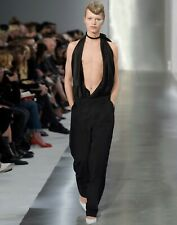 New £1690 Maison Margiela by John Galliano Plunge Front Runway Jumpsuit